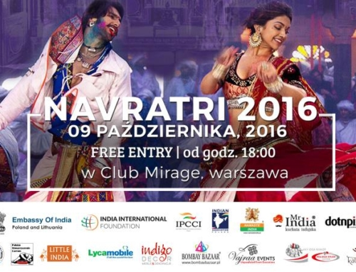 Navratri – Dandiya & Garba Festival – 09.10.2016